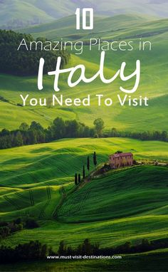 10 Amazing Places in Italy You Need To V. 10 Amazing Places in Italy You Need To Visit Places To Travel, Places To See, Travel Destinations, Amazing Places To Visit, Beautiful Places, Romantic Destinations, Italy Vacation, Vacation Spots, Italy Trip