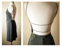 Vintage Metallic Bodycon Mini Dress by BlueHorizonVintage, $28.00 #vintage #mini #skirt #dress #bodycon #bandage #bluehorizonvintage #summerfashion #etsy #etsyfinds #backless #prom #90s #80s #festival #babydoll #grunge #boho