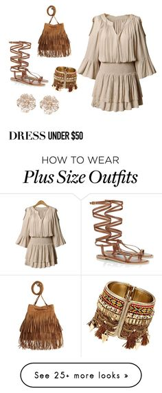"""Untitled #27"" by florenceuju on Polyvore featuring Lipsy, H&M, River Island and Dressunder50"