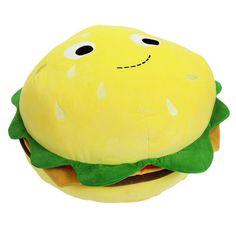 "Yummy World Cheeseburger 24"" Plush by Heidi Kenney x Kidrobot"
