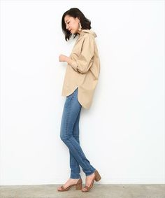 Duster Coat, Khaki Pants, Jackets, Tops, Fashion, Down Jackets, Moda, Khakis, Fashion Styles