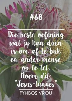__[Fynbos Vrou/FB] # 68 #Afrikaans #giveOut                                                                                                                                                                                 More