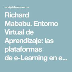Richard Mababu.Entorno Virtual de Aprendizaje: las plataformas dee-Learningen el contexto de la Sociedad de la Información
