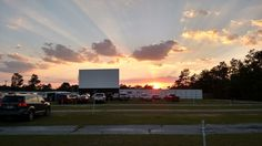 Jesup Drive In Theater -- better in the fall/winter
