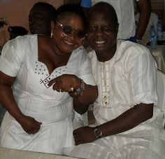 Mr Latin And Singer Saint Janet All Smile In Rare Picture