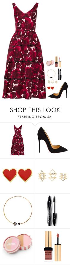 """""""Untitled #504"""" by h1234l on Polyvore featuring Marc Jacobs, Christian Louboutin, Charlotte Russe, Artelier by Cristina Ramella, Lancôme, jane, women's clothing, women, female and woman"""