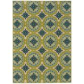 Found it at AllModern - Caspian Green Indoor / Outdoor Area Rug