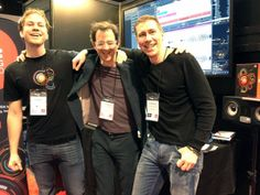 Happy Bitwig boys with EVE speakers behind them. Speakers, Eve, Punk, Boys, Winter, Happy, Style, Fashion, Winter Time
