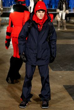 Moncler Grenoble Fall 2016 Ready-to-Wear Collection Photos - Vogue Fashion Week, Fashion Show, Mens Fashion, Fashion Trends, Vogue Paris, Moncler, New York, Men's Collection, Fall 2016