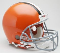 Cleveland Browns Helmet Riddell Authentic Full Size VSR4 Style 2006-2014 Throwback