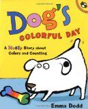 Dog's Colorful Day Activities {Free Printables}