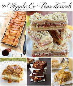 50 apple and pear desserts - Roxana's Home Baking