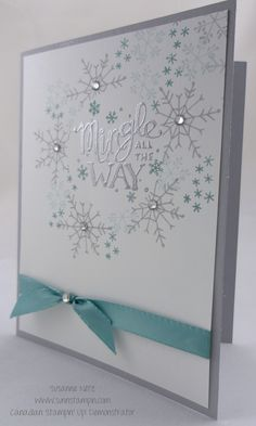 Mingle all the way Stampin' Up!