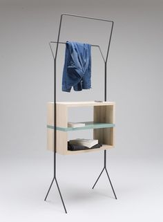 Maisonette (mobile units collection), by Simone Simonelli #nightstand #bedroom