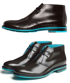 Cole Haan Cooper Square Chukka, that looks wow. Not for me of coarse but awesome men's shoes. Me Too Shoes, Men's Shoes, Shoe Boots, Dress Shoes, Neon Shoes, Ankle Boots, Sharp Dressed Man, Well Dressed Men, Fashion Shoes