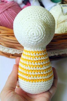Crochet Toy Dog PDF Tutorial
