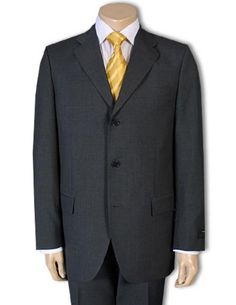 All of these suits are year-round weight and contains 100% pure wool. Fully perfect for your business and social suit needs.