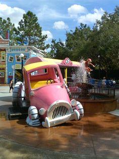 Curious George Fountain
