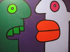Thierry Noir, Yearbook Ideas, Designs To Draw, All Art, Art Forms, Travelling, Graffiti, Street Art, Planters