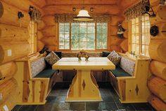 The Original Log Cabin Homes Interior Tour Showcase
