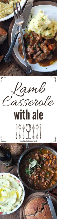 This hearty dish is incredibly simple to make and results in a delicious, fork-tender casserole perfect with creamy mashed potatoes. In collaboration with Lamb. Tasty, Easy, Fun.