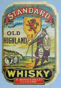 Standard Old Highland Whisky