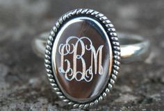 The Silver Goose - Jewelry - Monogrammed