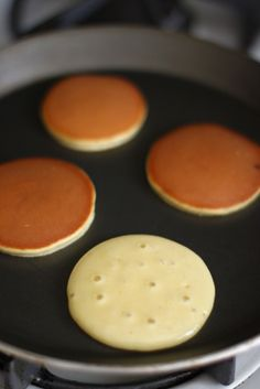 Simply June: Dorayaki (Japanese Pancake with Red Bean Paste Filling)