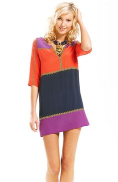Just ordered this...can't WAIT to get it!  BCBGMAXAZRIA 'Aidas' Colorblock Minidress