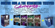 Doctor Who & Dimension Thieves Giveaway