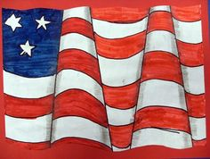 Flag Oh this is a great variation on the Op art that I usually do.