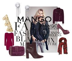 """Winter Aesthetic with Mango and That's Chic"" by tabitha-escoe ❤ liked on Polyvore featuring MANGO"