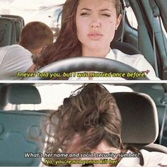 mr and mrs smith quotes \ mr and mrs smith _ mr and mrs smith costume _ mr and mrs smith quotes _ mr and mrs smith aesthetic _ mr and mrs smith wedding _ mr and mrs smith gif _ mr and mrs smith angelina jolie _ mr and mrs smith movie Mr And Mrs Smith, Ms Smith, Tv Show Quotes, Film Quotes, Funny Movies, Great Movies, Funny Movie Scenes, Iconic Movies, Love Movie