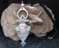Big Tuareg Compass Cross Silver Niger with by TuaregJewelry, $122.00