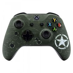 Xbox One S Custom Controller Call of Duty Themed Custom Xbox One Controller, Xbox Controller, Consoles, Xbox Accessories, Xbox One Console, Gaming Room Setup, Xbox One S, Call Of Duty, Us Army