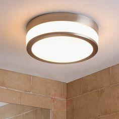 LED-Bad-Deckenlampe Flavi, nickel matt-Deckenleuchten-9620634-30