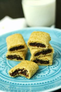 Fig Einsteins aka gluten free fig newtons, finally a long lost favorite brought back!