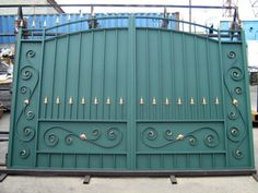 modern gate design for elegant Home Gate Design, Home Window Grill Design, Gate Wall Design, House Main Gates Design, Balcony Railing Design, Front Gate Design, Unique House Design, Door Design, Modern Steel Gate Design