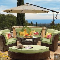 Need this exact set up for my back patio to watch our beautiful hill country sunsets!