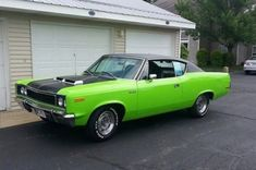 1970 AMC Rebel with the rare 'Big Bad Green' color