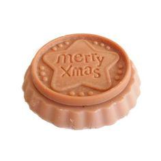 Fondant Parfumé Chocolat Menthe Biscuit de Noël Cire Végétale Naturelle Parfum D'Ambiance : Accessoires de maison par bougies-parfumees-fleur-artifice