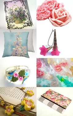 Flowers of the Field (Sirius Fun) by Kathy Carroll on Etsy--Pinned with TreasuryPin.com