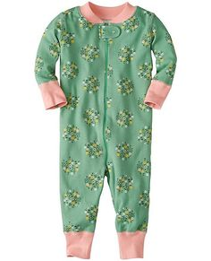 Why are Hanna babies so happy? This super-cozy little sleeper is surely part of it...our legendary babysuit cuddles them in extra-huggable…