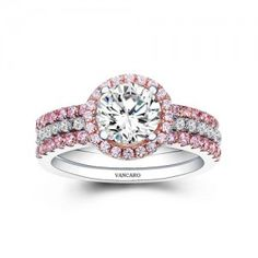http://www.vancaro.com/pink-lace-sterling-silver-with-lab-created-cubic-zirconia-wedding-ring-set.html