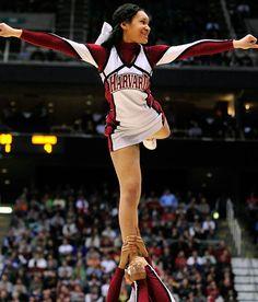 Harvard Crimson Ncaa Tournament, Legally Blonde, Harvard University, College Basketball, Athletic Women, Cheerleading, High School, Wonder Woman, Superhero