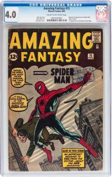 Superhero, Amazing Fantasy #15 (Marvel, 1962)