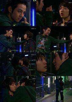 You're Beautiful <3 one of my fav scenes ^^  jang geun suk and park shin hye <3