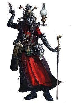 art-of-40k:  Character art of Dark Heresy.