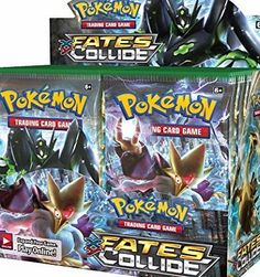 Pokémon Pokemon XY10 Fates Collide Booster Pack: 10 Additional Cards for Pokemon Trading Card Game (Random, Mega Alakazam-EX sees the future-and shapes it to unify two worlds! The Legendary Pokémon Zygarde arrives in many different Formes to bring order, together with Lugia BRE (Barcode EAN = 0820650801136) http://www.comparestoreprices.co.uk/latest2/pokémon-pokemon-xy10-fates-collide-booster-pack-10-additional-cards-for-pokemon-trading-card-game-random-.asp