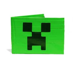 Minecraft Creeper Duct Tape Wallet by freakywallet on Etsy